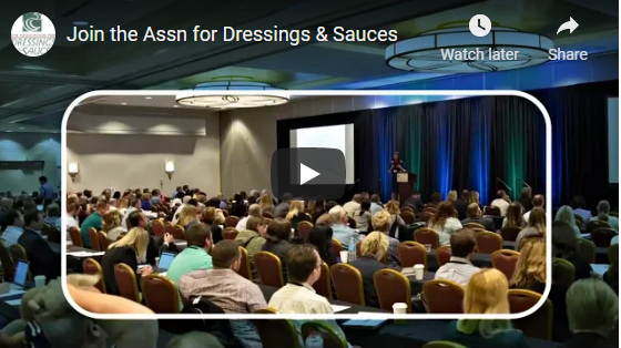 Recruitment Video: Association for Dressings and Sauces